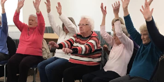 Seated Excersize class